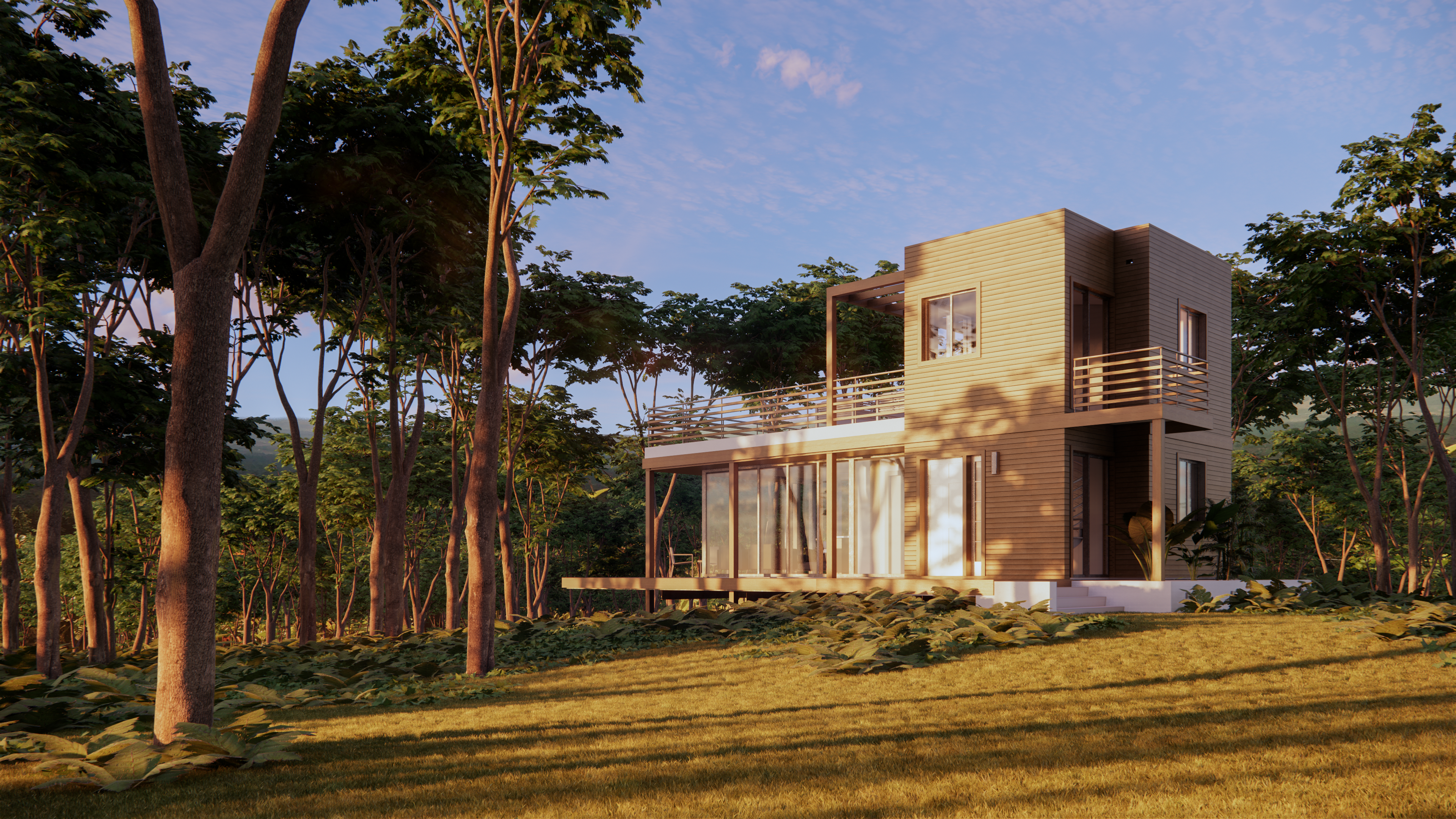Freedom Village - Heliconia Rendering